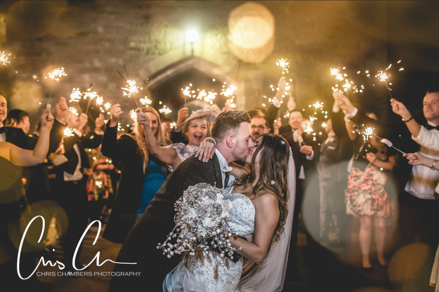 Sparkler wedding photographer, Evening wedding photographer, Night wedding photography